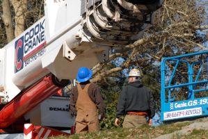 120 ton Demag crane